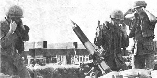 20,000 round is fired from mortar